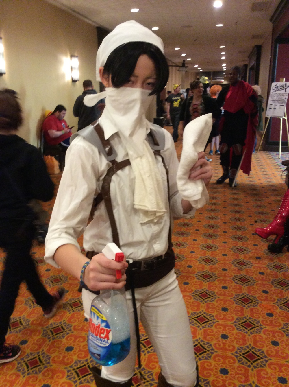 Levi Ver. Cleaning